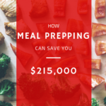 How Meal Prepping Can Save You $215,000