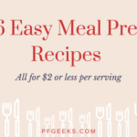 46 Easy and Cheap Meal Prep Recipes You Can Make for $2 or Less Per Serving