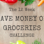Save money on groceries challenge