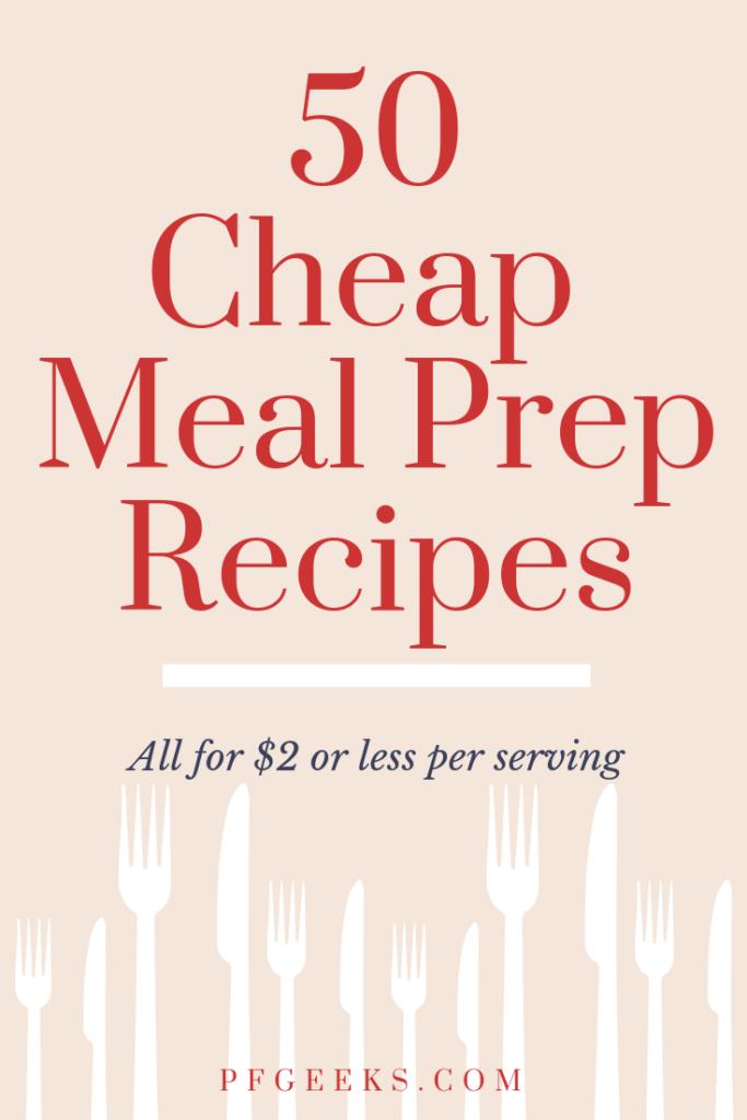 cheap meal prep recipes