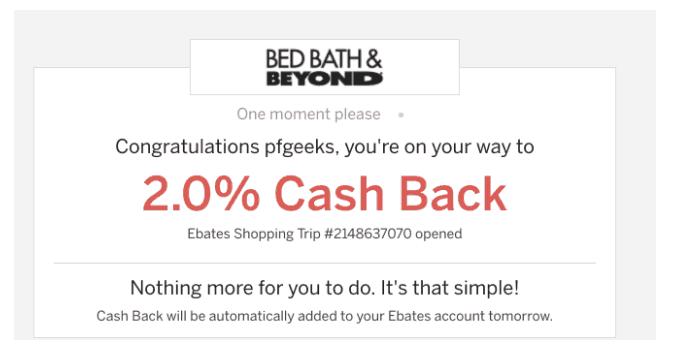 ebates cashback