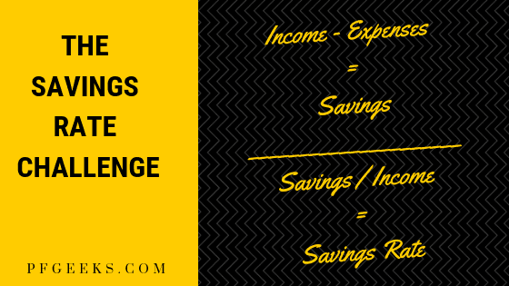 Savings rate challenge
