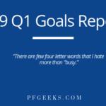 2019 Goals Report
