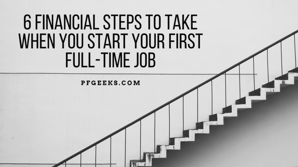 Financial steps